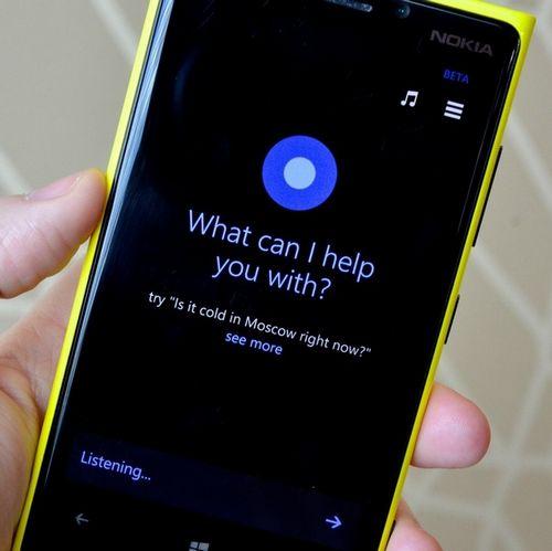 Голосовой помощник cortana будет доступен владельцам lumia в апреле