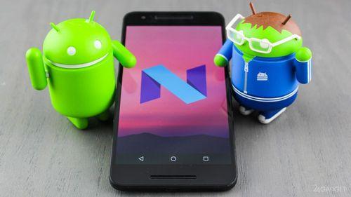 Google официально выпустила android 7.0 nougat (3 фото)
