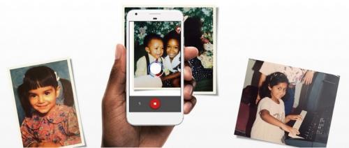 Google photoscan — простое и удобное приложение для оцифровки напечатанных фото