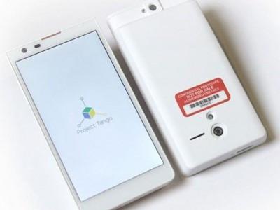 Google представила собственный смартфон project tango