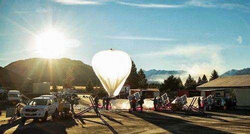 Google запатентовал метод управления воздушными шарами с интернетом (4 фото + видео)