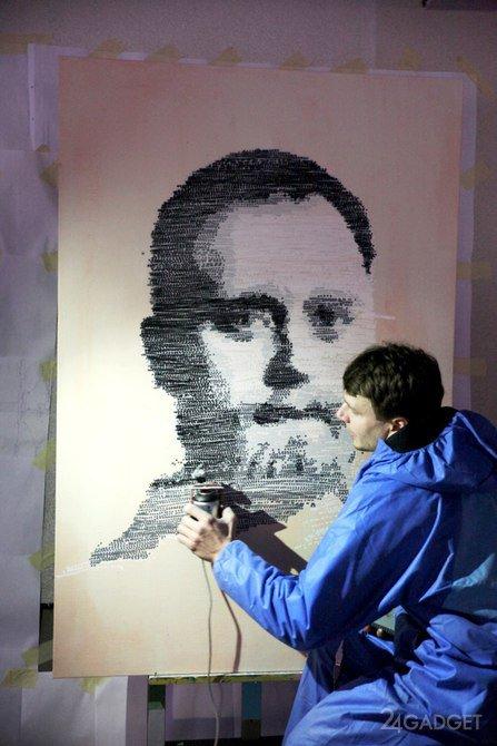 Граффити-принтер любого превращает в художника (5 фото + 2 видео)