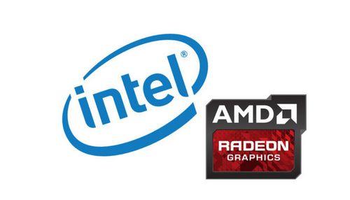 Графика amd может быть использована в процессорах intel