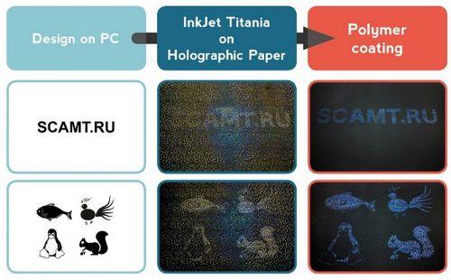 Химики научились печатать голограммы на струйном принтере