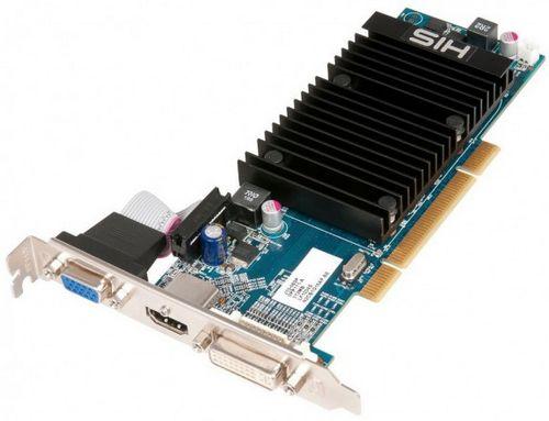His расширила линейку видеокарт моделью radeon hd 5450 с интерфейсом pci
