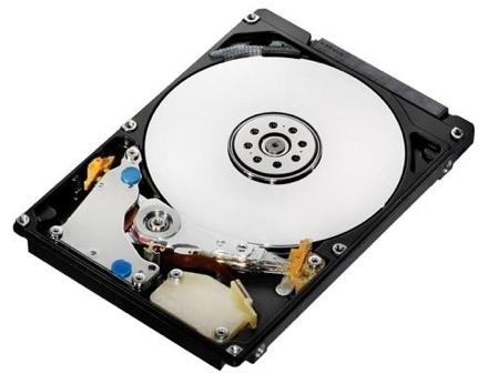 Hitachi представила передовые жесткие диски для ноутбуков
