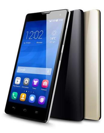 Honor 3c — новый смартфон с двумя sim-картами от huawei