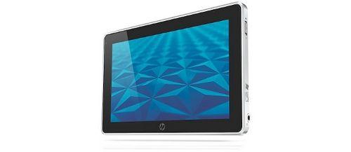 Hp представила планшет на базе windows 7. фото