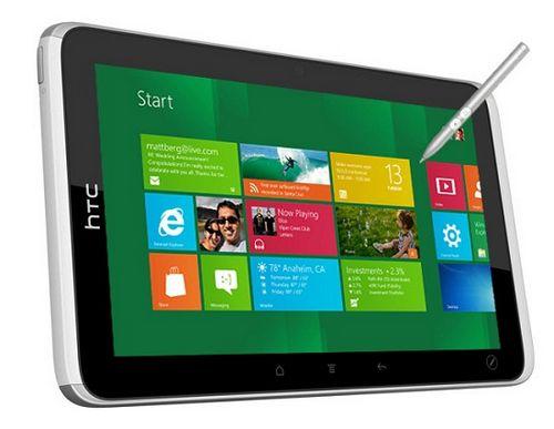 Htc планирует выпуск windows-планшетов