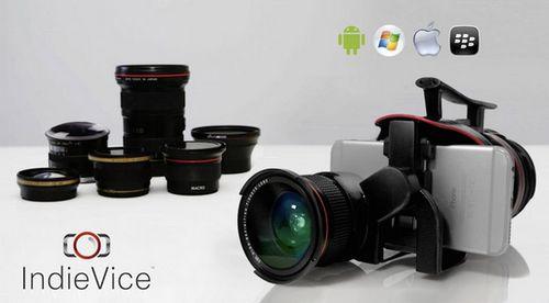 Indievice превратит смартфон в профессиональный фотоаппарат