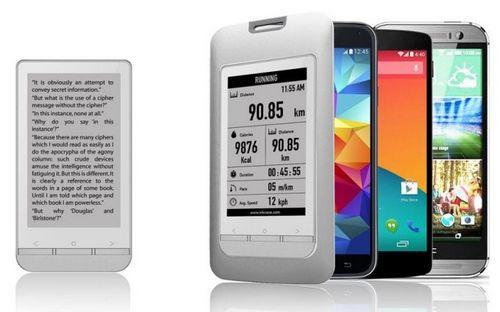 Inkcase plus - e ink-дисплей для android-смартфонов