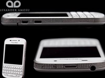 Инкрустированный бриллиантами blackberry q10 выйдет тиражом 25 смартфонов