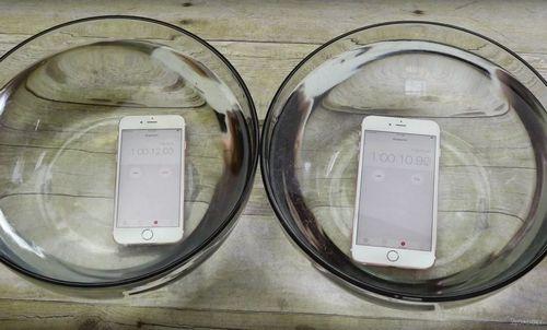 Iphone 6s и iphone 6s plus прошли испытание водой (2 видео)