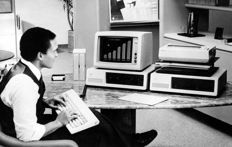 История компании microsoft, отмечающей сороковой день рождения