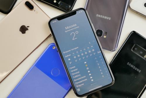 История продажи смартфонов впервые отметилась снижением показателей