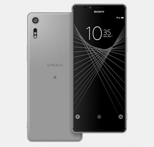 Изображения смартфона sony xperia x ultra демонстрируют аппарат с ультраширокоформатным дисплеем