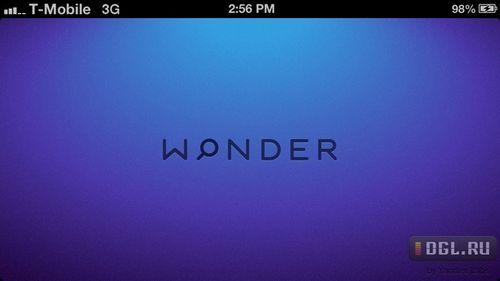 Эксклюзив: скриншоты приложения yandex wonder