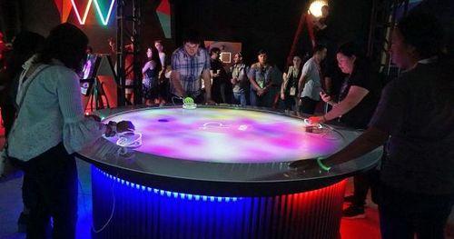 Эксперты: стол виртуального воздушного хоккея от sony – взгляд в будущее дополненной реальности