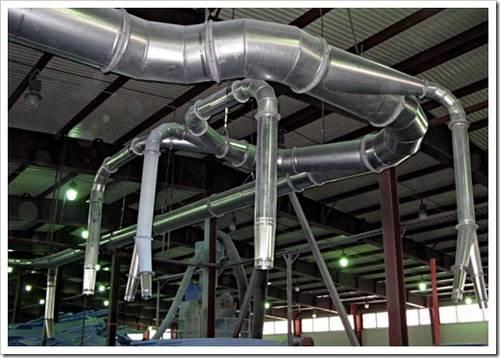 Как делать монтаж промышленной вентиляции? советы и рекомендации опытных специалистов помогут сэкономить время и недопустить явных ошибок.