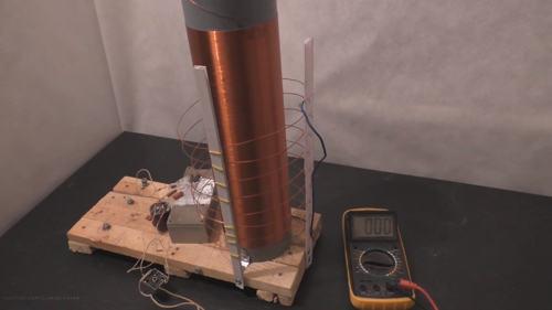 Как получить энергию с помощью трансформатора тесла