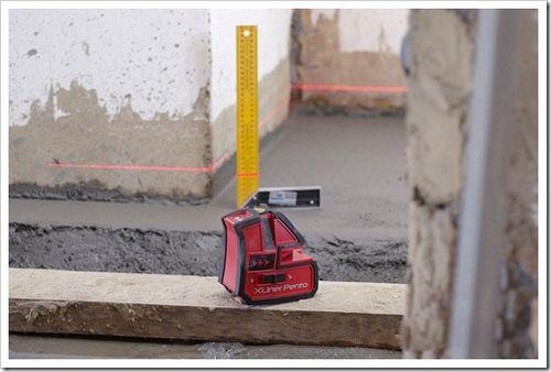 Как пользоваться лазерным нивелиром? выполняем отделку по строгому уровню.