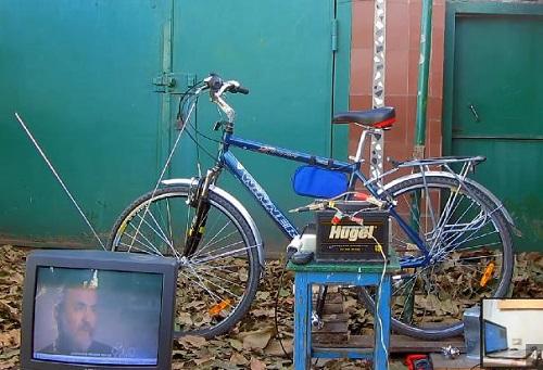 Как сделать электрический генератор из велосипеда на 12 и 220 вольт
