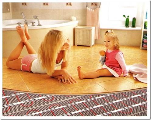 Как сделать электрический теплый пол под бетон? означенные работы могут быть выполнены самостоятельно, без привлечения профессионалов.