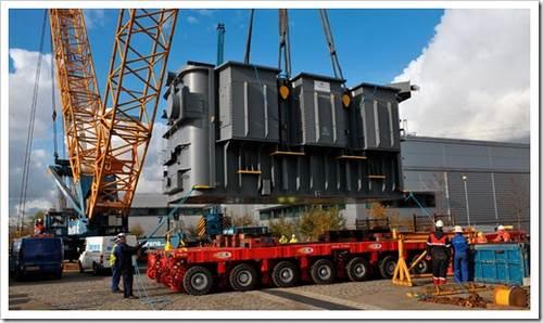 Как выполнить перевозку трансформатора? статья описывает весь процесс - от разборки, до водружения на базу.