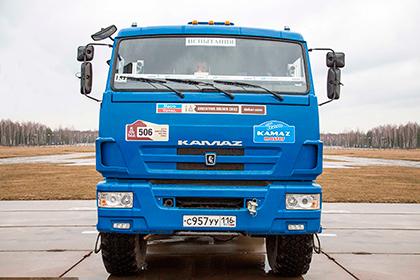 «Камаз» провел первое тестирование беспилотного грузовика
