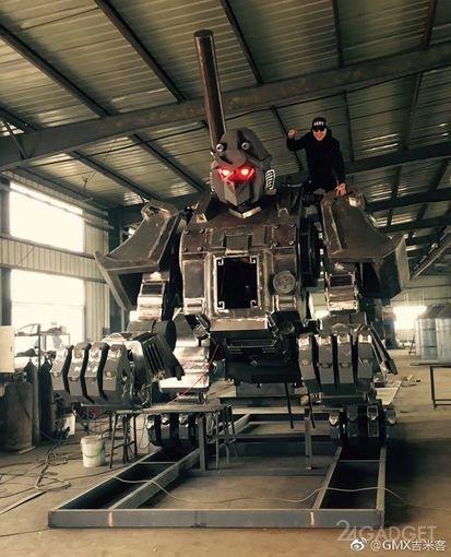 Китайский monkey king составит конкуренцию гигантским роботам (5 фото + видео)