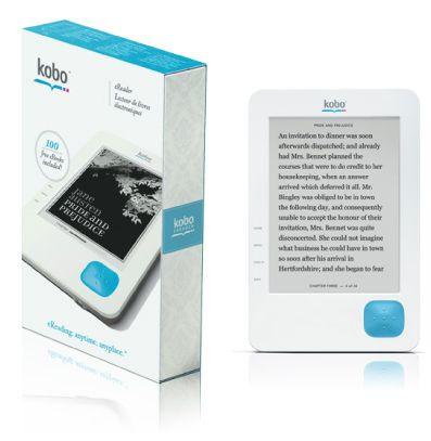 Kobo ereader - новая электронная книга за $149