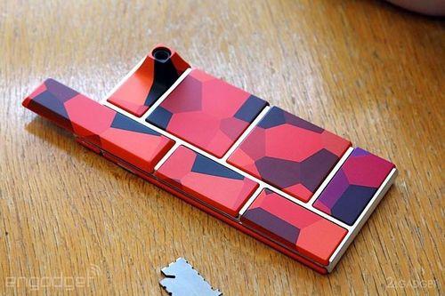 Компания google представила первый прототип модульного смартфона project ara (22 фото)