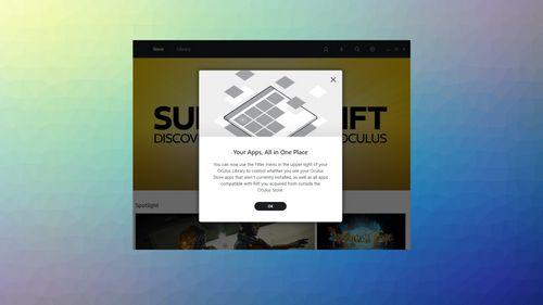 Компания oculus анонсировала каталог приложений oculus platform