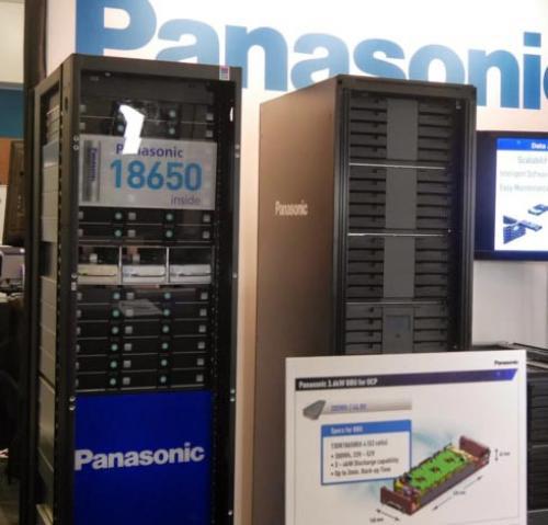 Компания panasonic показала на мероприятии ocp u.s. summit 2015 устройство для архивного хранения данных и резервный источник питания