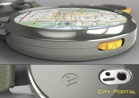 Концепт навигационной системы для пешеходов