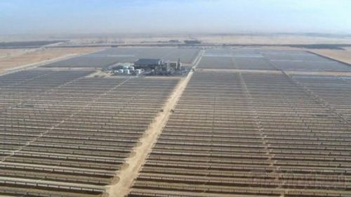 Крупнейшая в мире электростанция концентрированной солнечной энергии shams 1