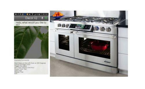 Кухонные печи dacor на android получат голосовое управление
