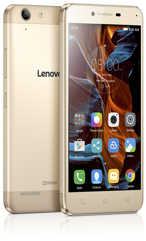 Lenovo представила в россии смартфон vibe k5