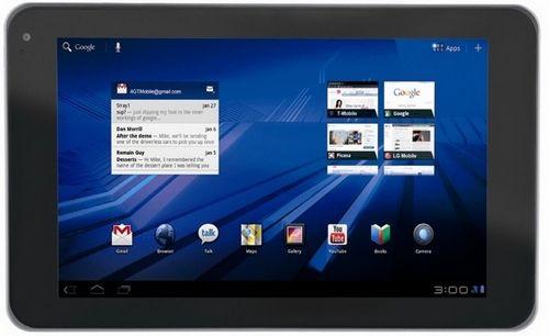 Lg создала планшет с 3d-дисплеем и 3d-камерой