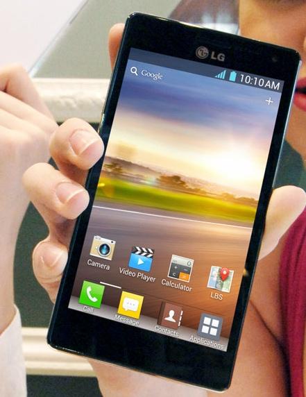 Lg выпускает 4-х ядерный смартфон