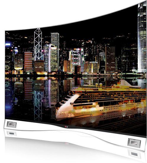 Lg выпускает на рынок сша oled-телевизор с изогнутым экраном