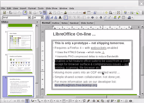 Libreoffice скоро выйдет на android