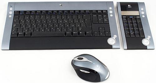 Logitech выпустила беспроводной набор dinovo media desktop laser