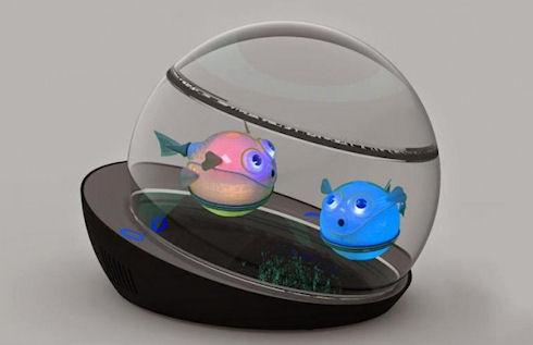 Lumipuff – рыбка-тамагочи