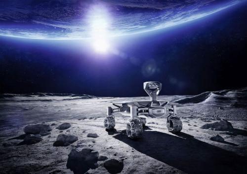 Луноход audi lunar quattro сбросил восемь килограмм и готов к миссии