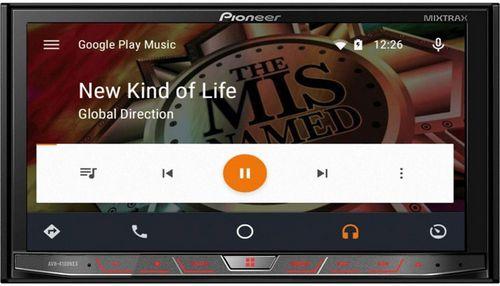 Медиаплеер pioneer avh-4100nex с поддержкой android auto и apple carplay поступил в продажу