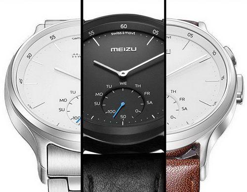 Meizu mix — умные часы со стрелками и автономностью 240 дней (11 фото)