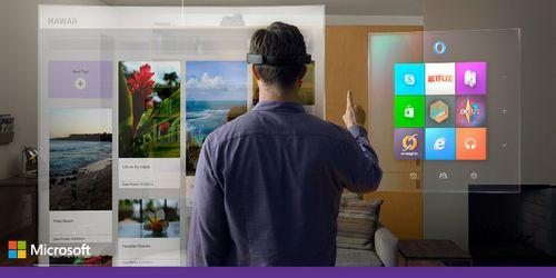 Microsoft windows holographic - платформа дополненной реальности для повседневной жизни