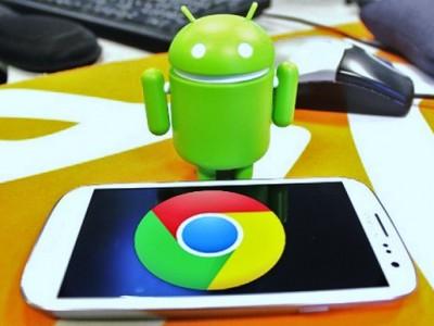 Мобильную версию google chrome используют 400 миллионов человек