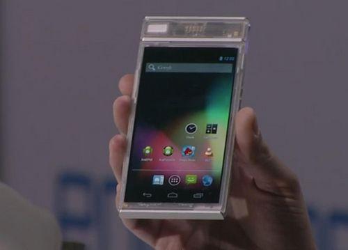 Модульный смартфон project ara продемонстрирован в работе